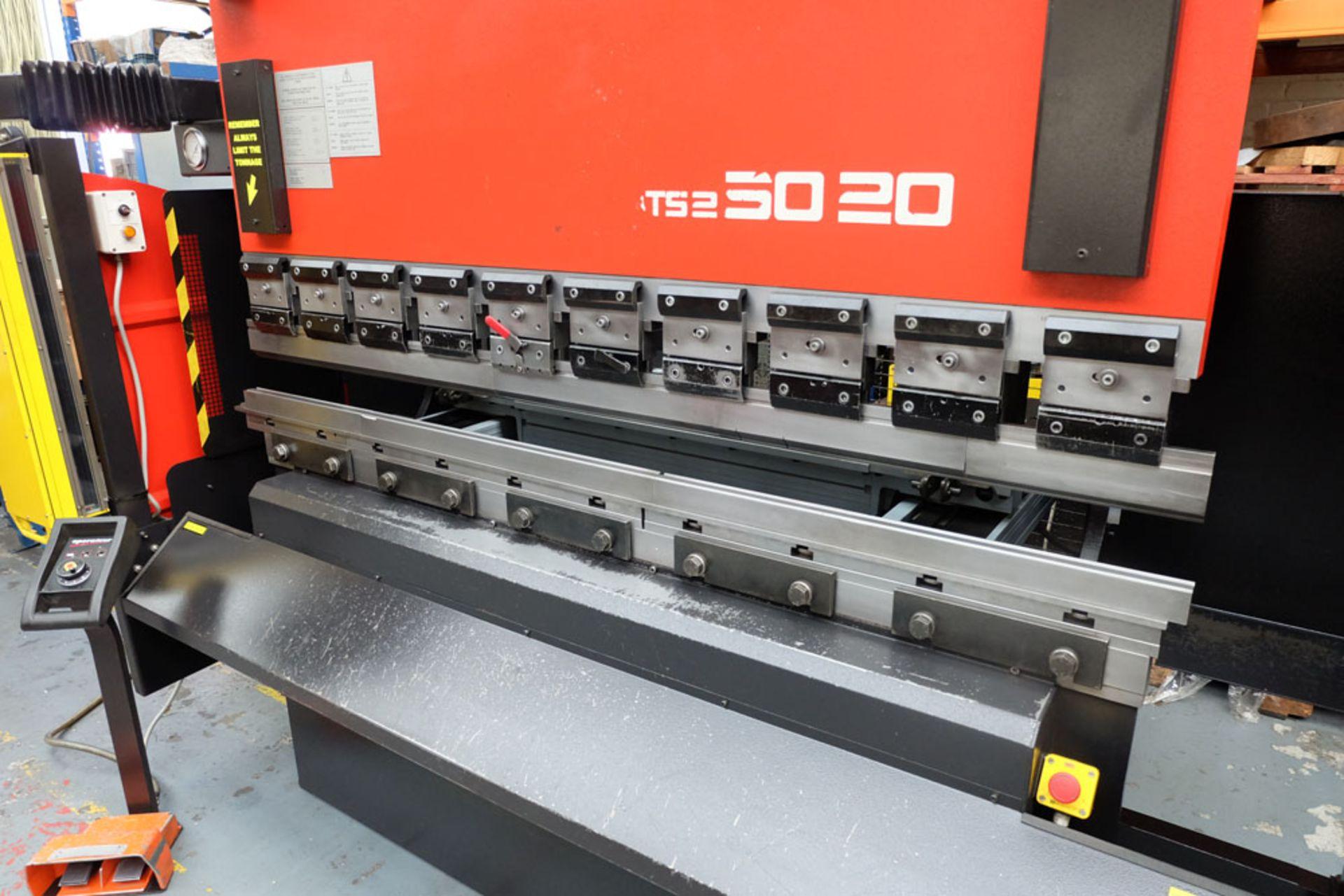 Amada ITS2 50-20 Press Brake. Capacity 2000mm x 50 Ton. - Image 2 of 17