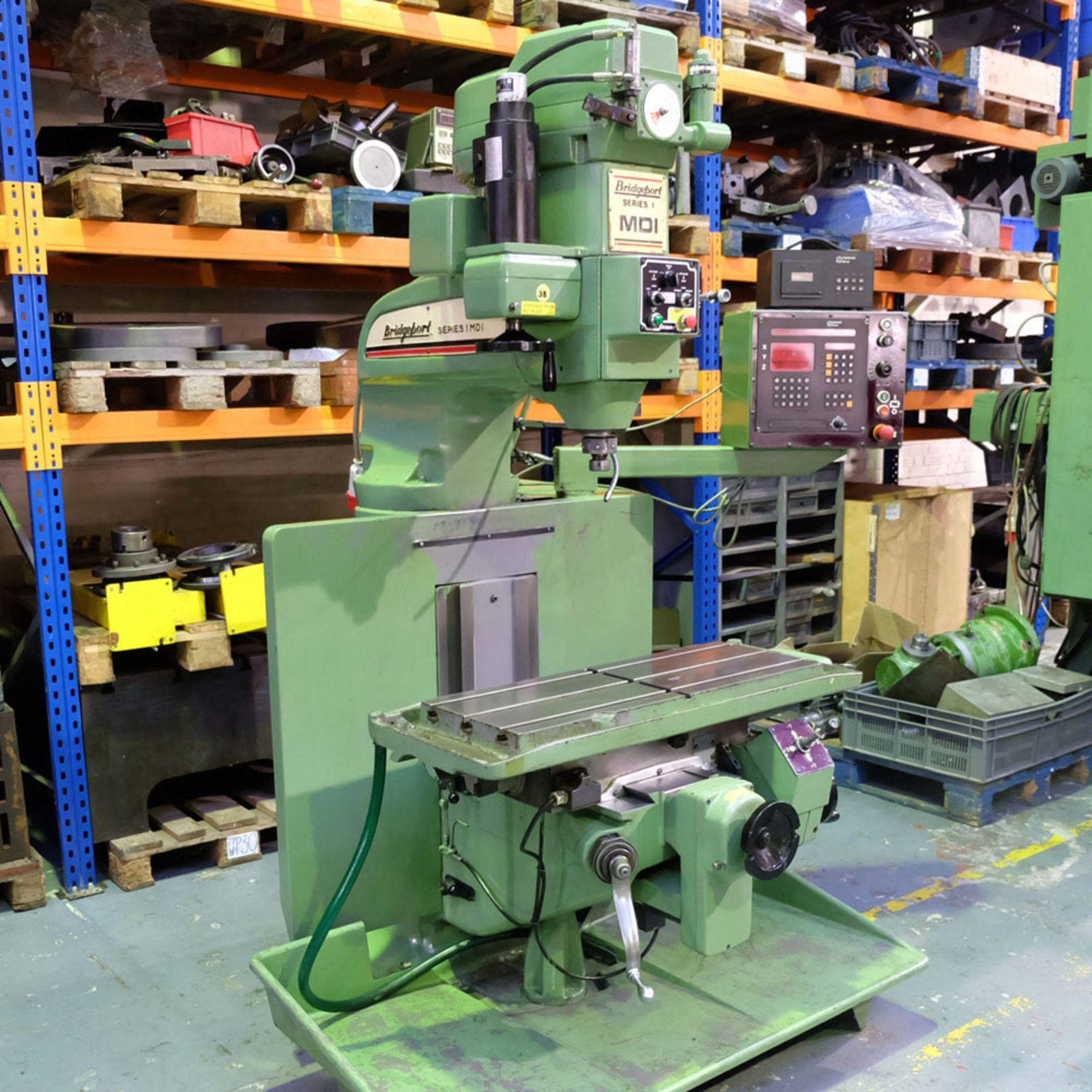 Bridgeport Series 1 MDI. CNC Mill with Heidenhain TNC131 3 Axis Control. - Image 2 of 14