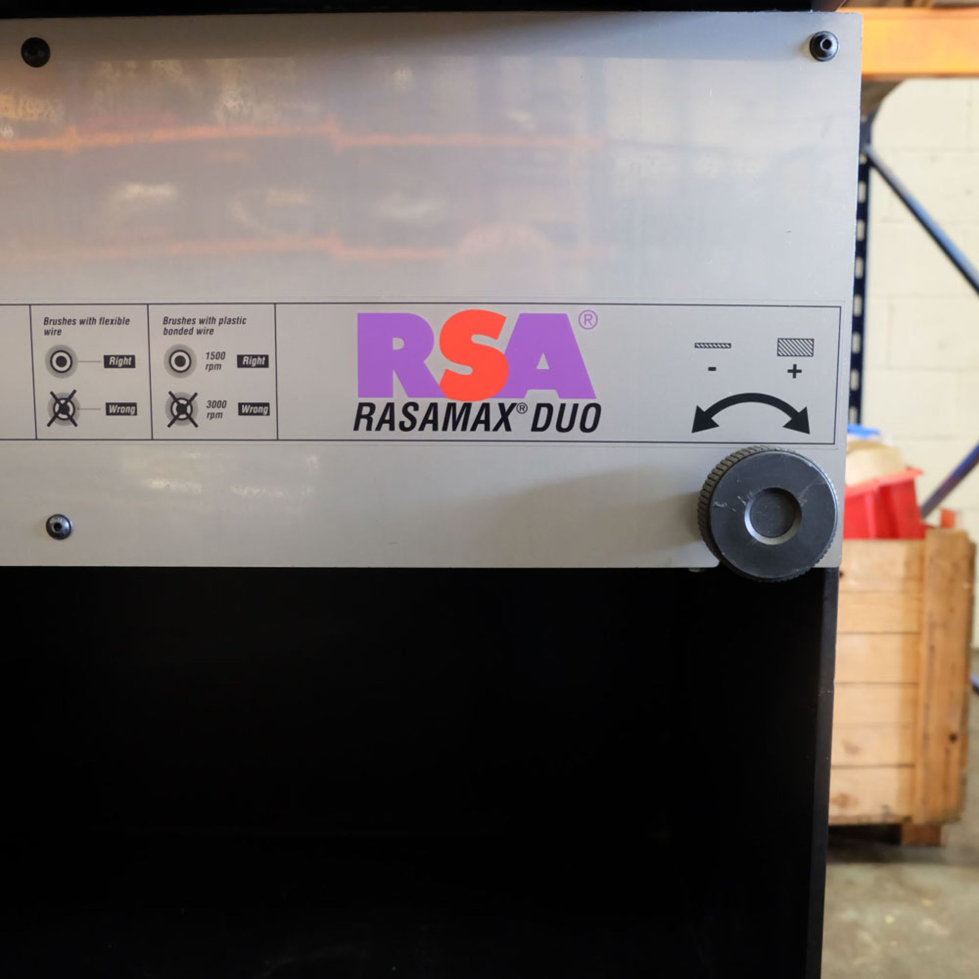 RSA Rasamax Duo. Thickness of Sheet: 5mm Maximum. Two Speed. - Image 7 of 10