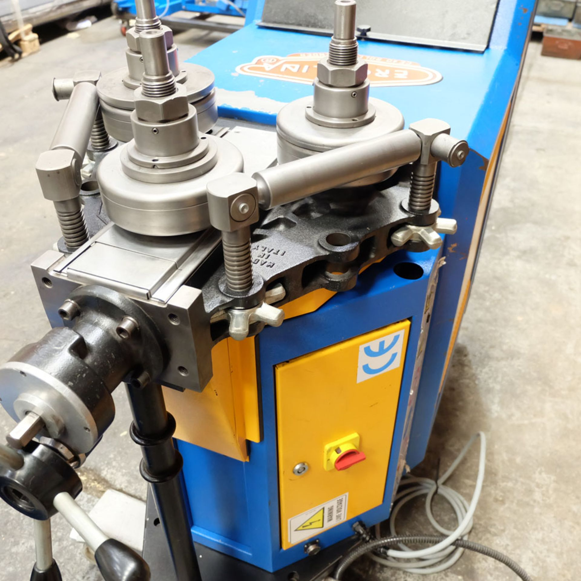 Ercolina CE40MR3 - Ring rollers. Horizontal/Vertical. Roll Shaft Diameter 40mm. - Image 5 of 14