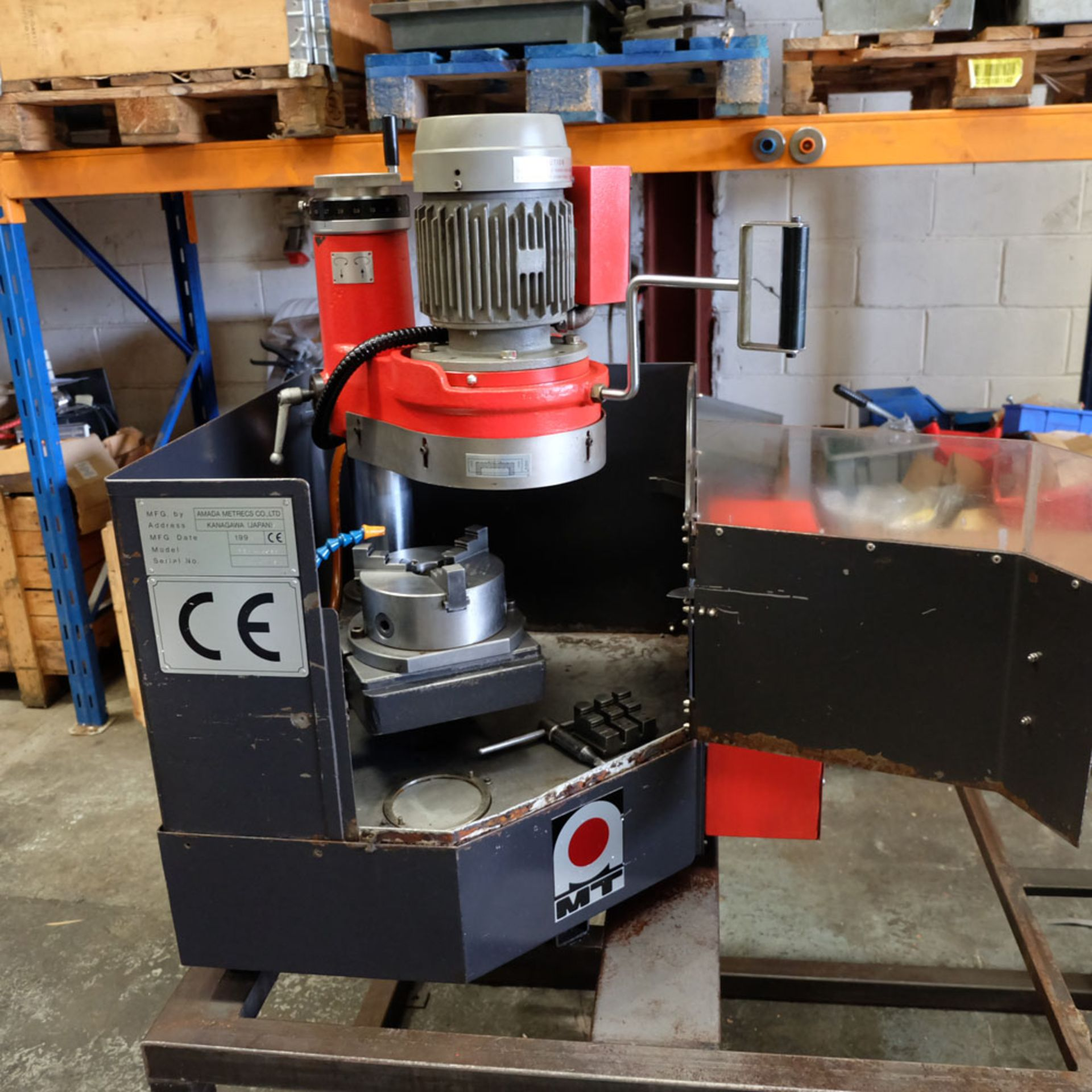 Amada TEG 160 ES - Tool Grinder. Grinding Capacity 160mm. Cup Wheel Diameter 180mm.