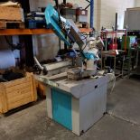 Imet BS280/60 ECO - Horizontal Manual Pull Down Bandsaw. Capacity 280mm.