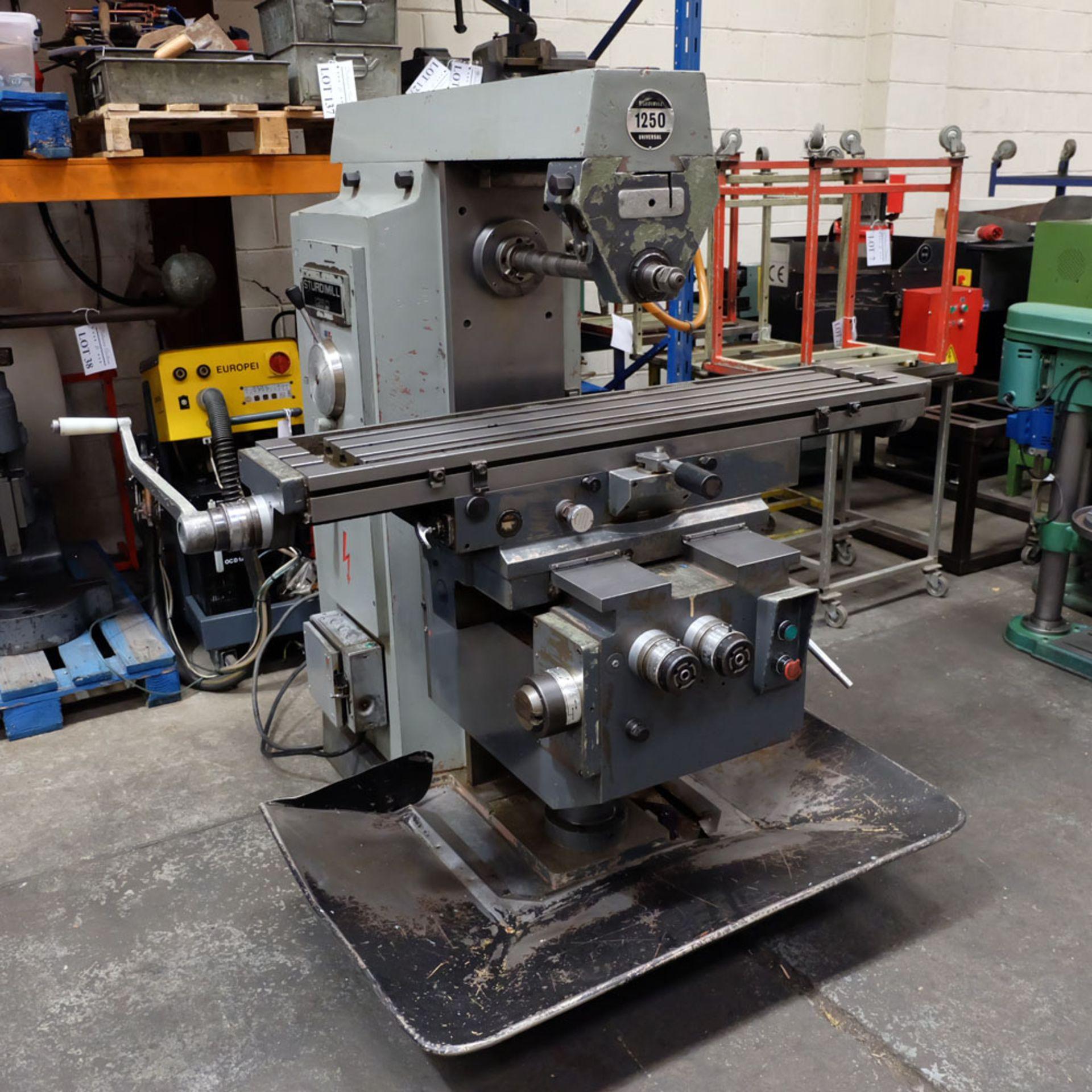 Elliott Horizontal Milling Machine. - Image 2 of 12