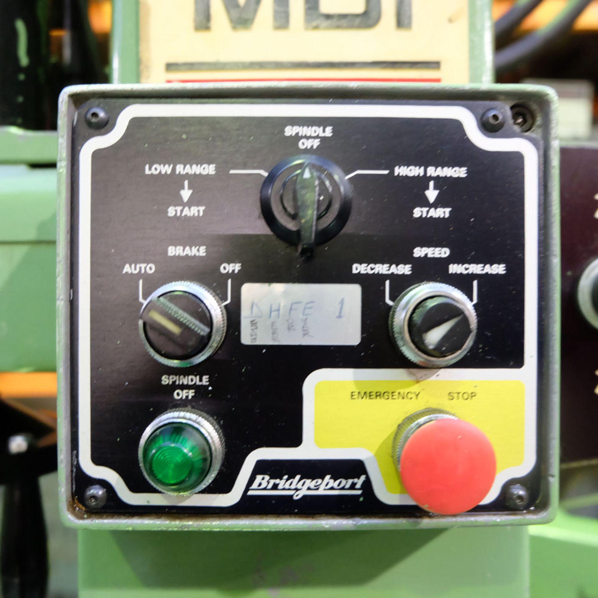Bridgeport Series 1 MDI. CNC Mill with Heidenhain TNC131 3 Axis Control. - Image 11 of 14