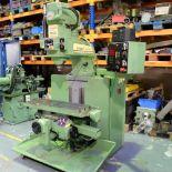 Bridgeport Series 1 MDI. CNC Mill with Heidenhain TNC131 3 Axis Control.