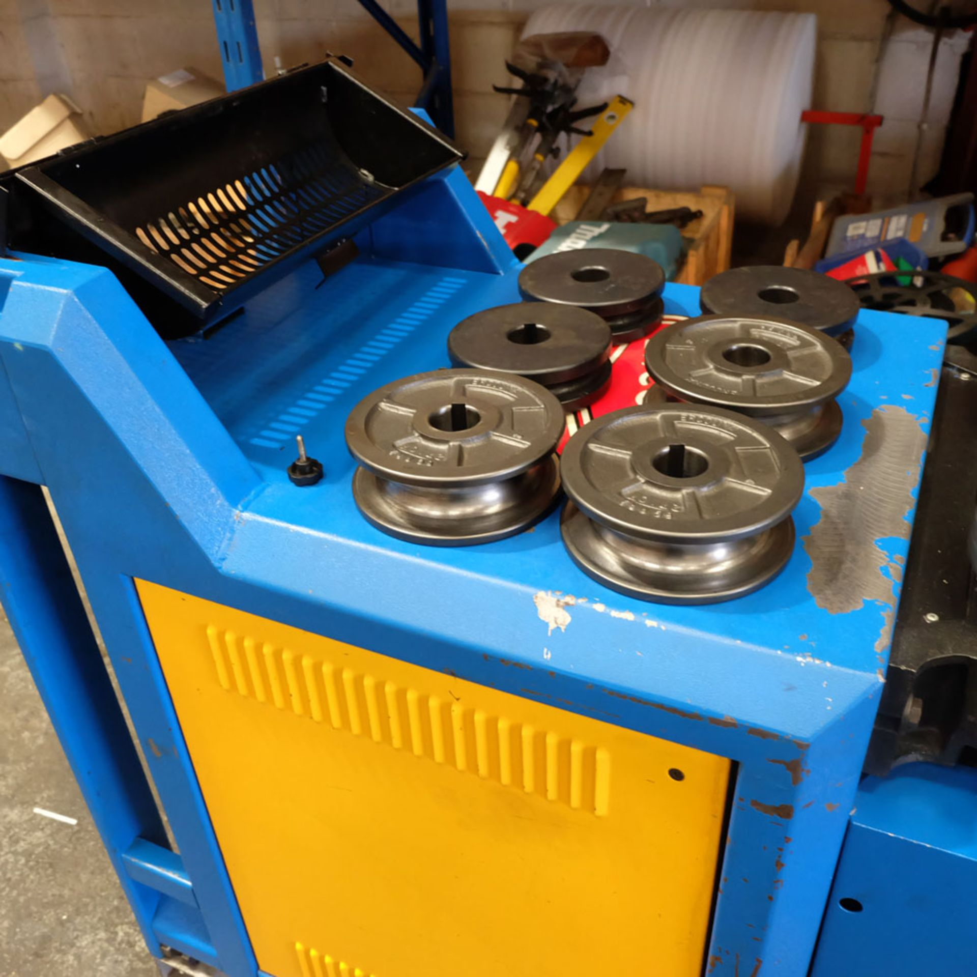 Ercolina CE40MR3 - Ring rollers. Horizontal/Vertical. Roll Shaft Diameter 40mm. - Image 13 of 14
