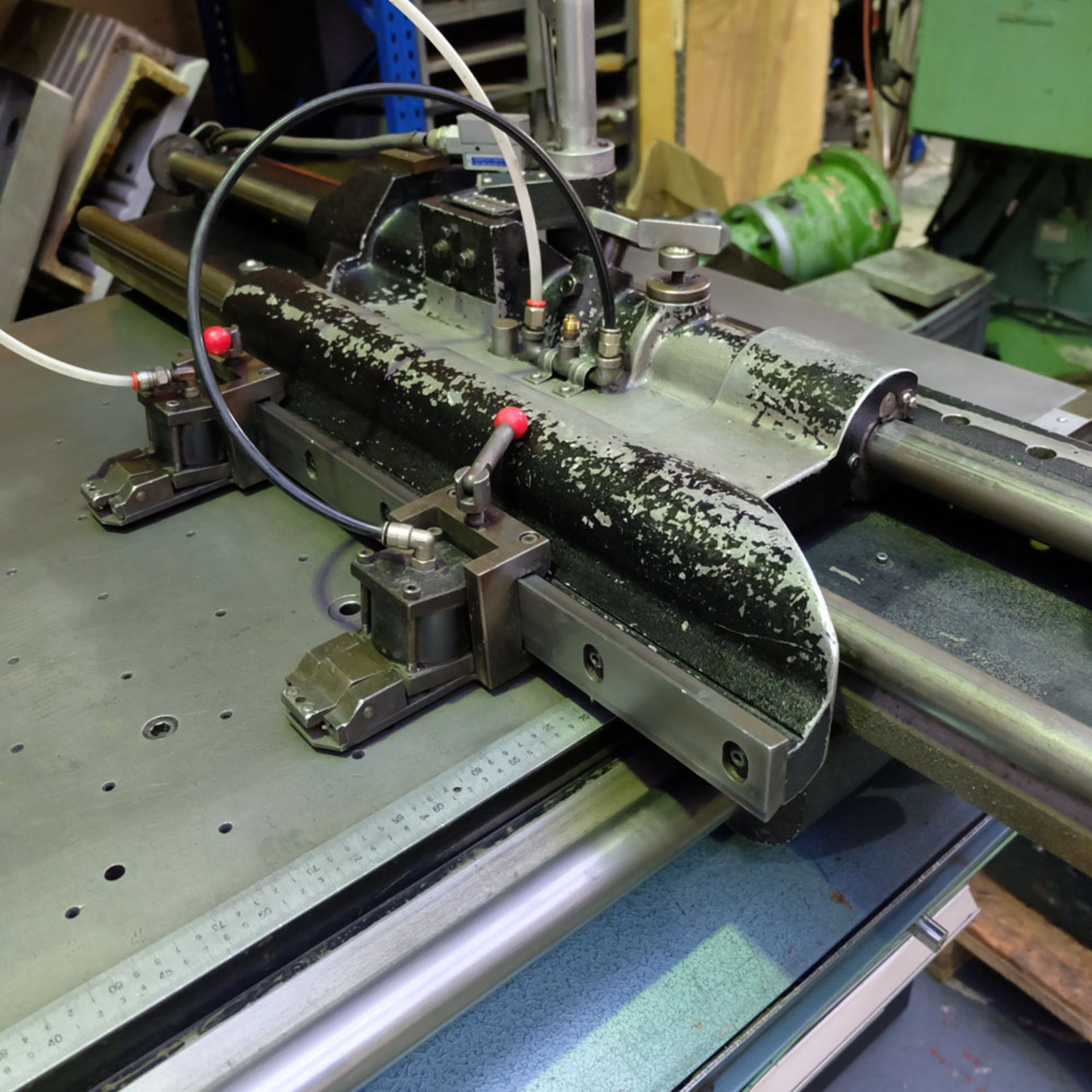 Amada D-750 Duplicator Punching Machine. - Image 8 of 18