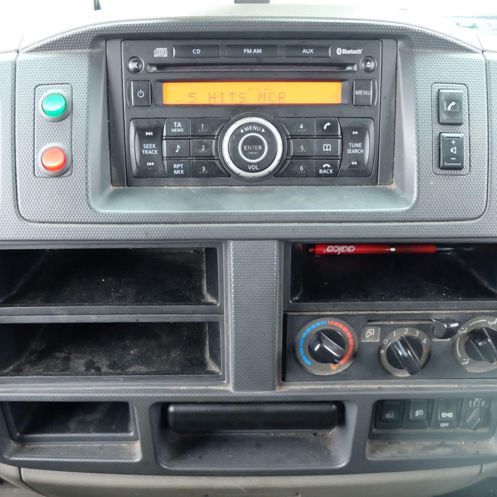 NISSAN CABSTAR 35.14 Rigid Bodied Curtain Truck. 3500KG Gross Weight. Sat Nav, Reversing Camera. - Image 10 of 14