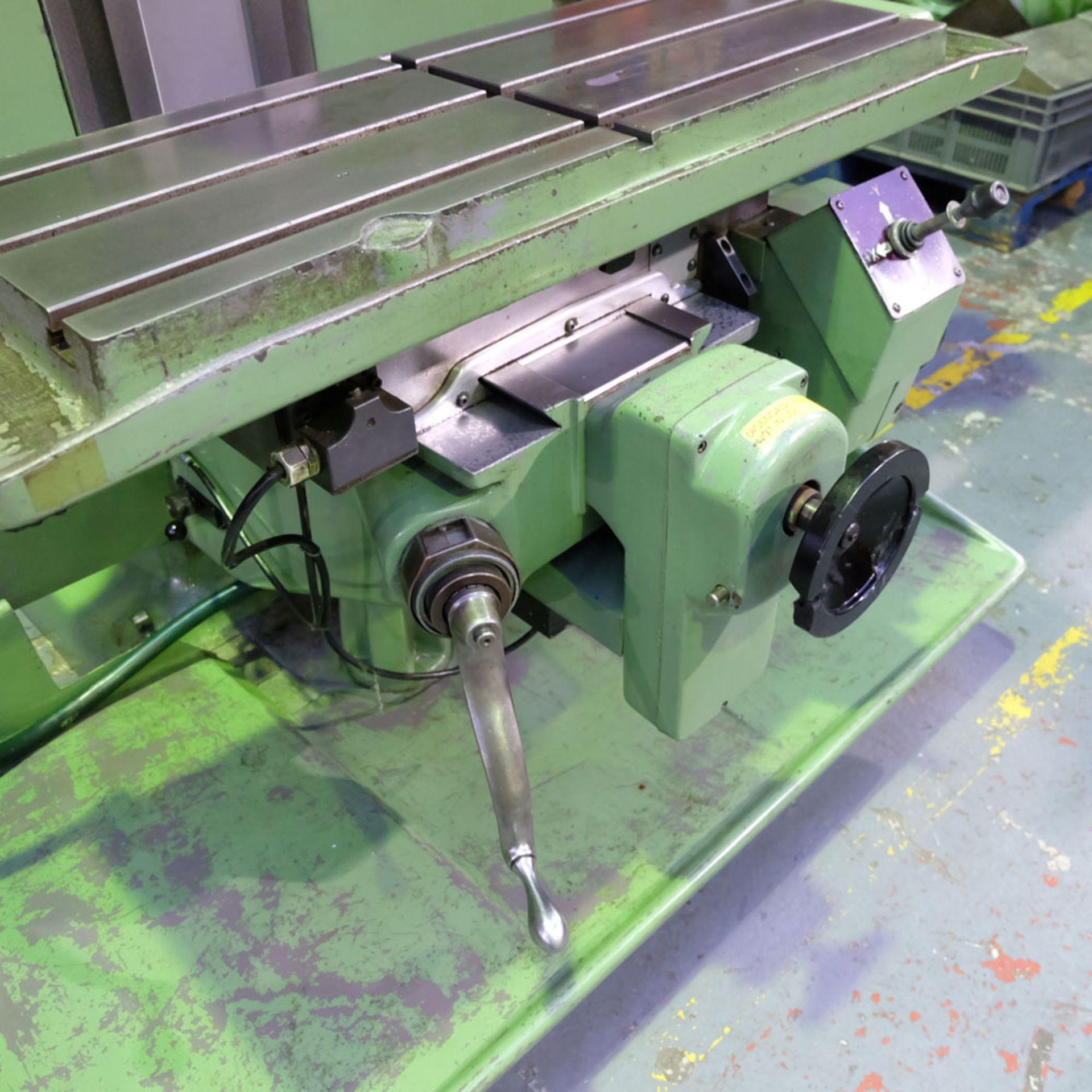 Bridgeport Series 1 MDI. CNC Mill with Heidenhain TNC131 3 Axis Control. - Image 8 of 14