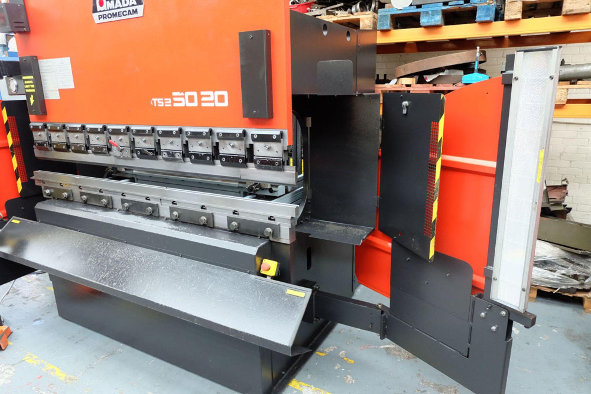 Amada ITS2 50-20 Press Brake. Capacity 2000mm x 50 Ton. - Image 7 of 17