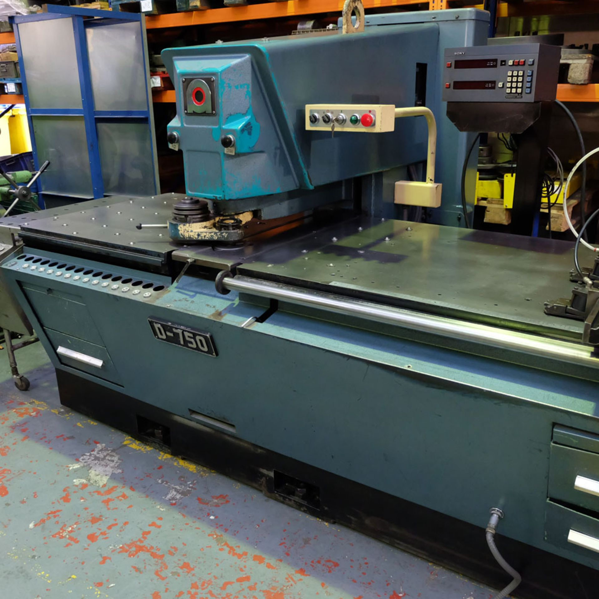 Amada D-750 Duplicator Punching Machine. - Image 3 of 18