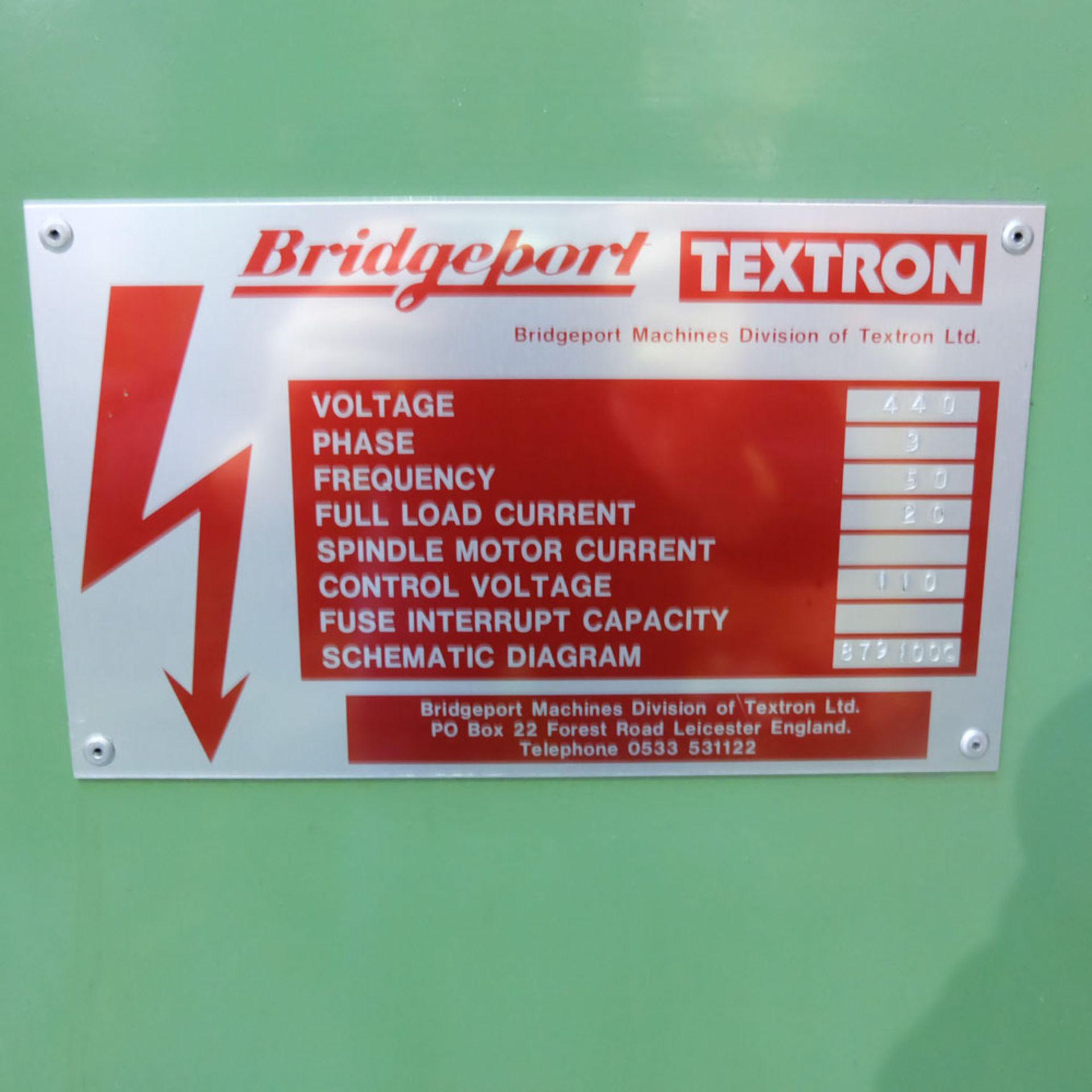 Bridgeport Series 1 MDI. CNC Mill with Heidenhain TNC131 3 Axis Control. - Image 13 of 14