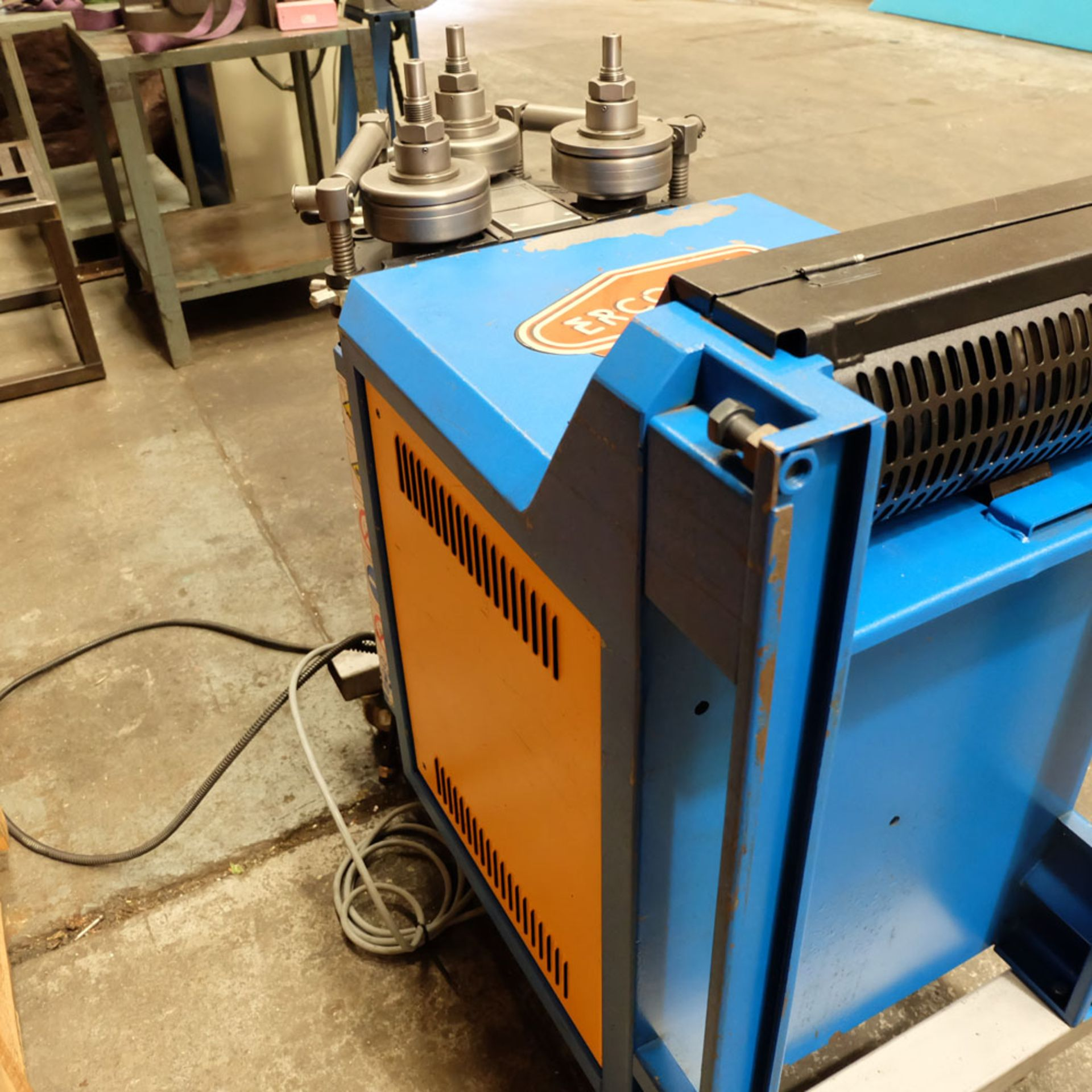 Ercolina CE40MR3 - Ring rollers. Horizontal/Vertical. Roll Shaft Diameter 40mm. - Image 8 of 14