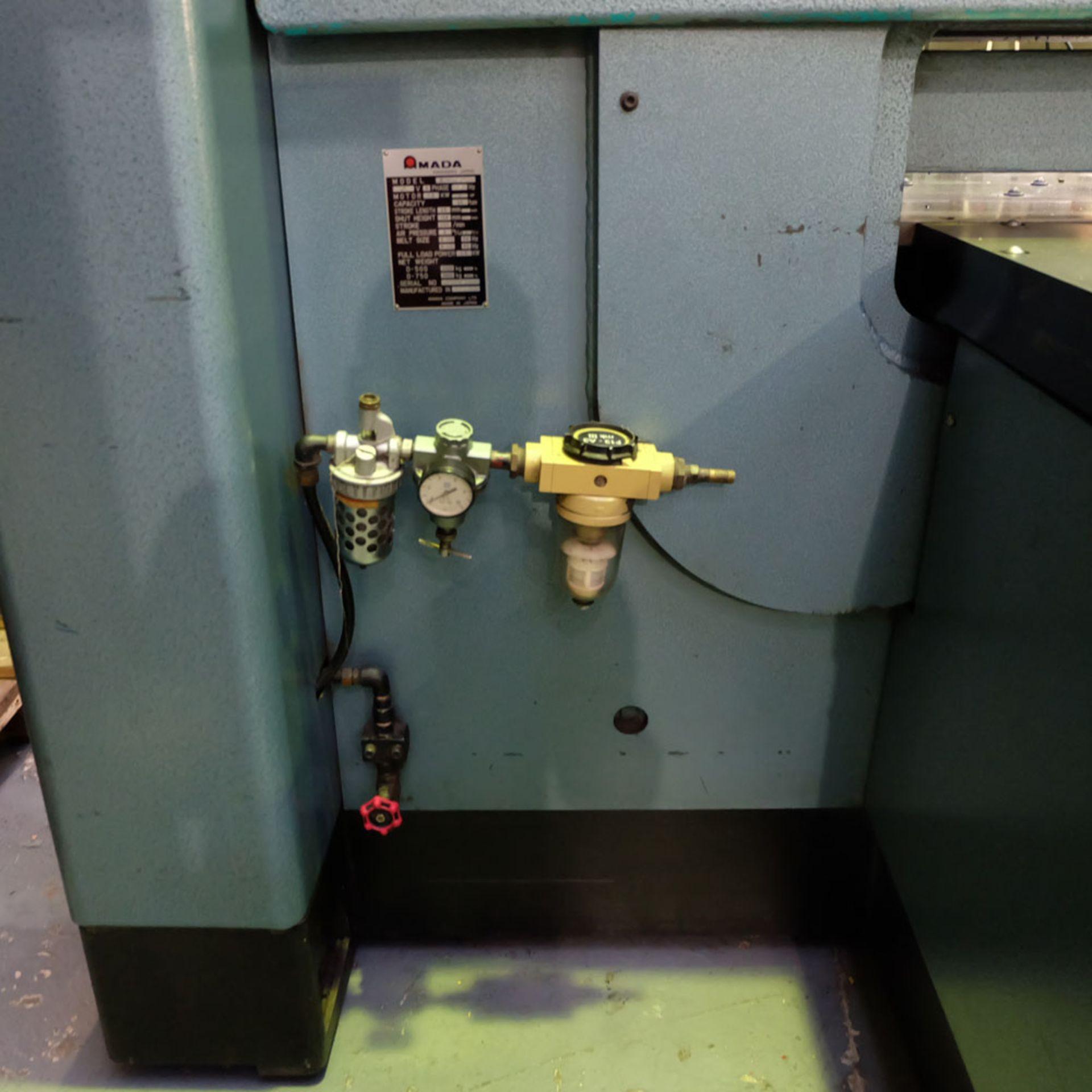 Amada D-750 Duplicator Punching Machine. - Image 12 of 18