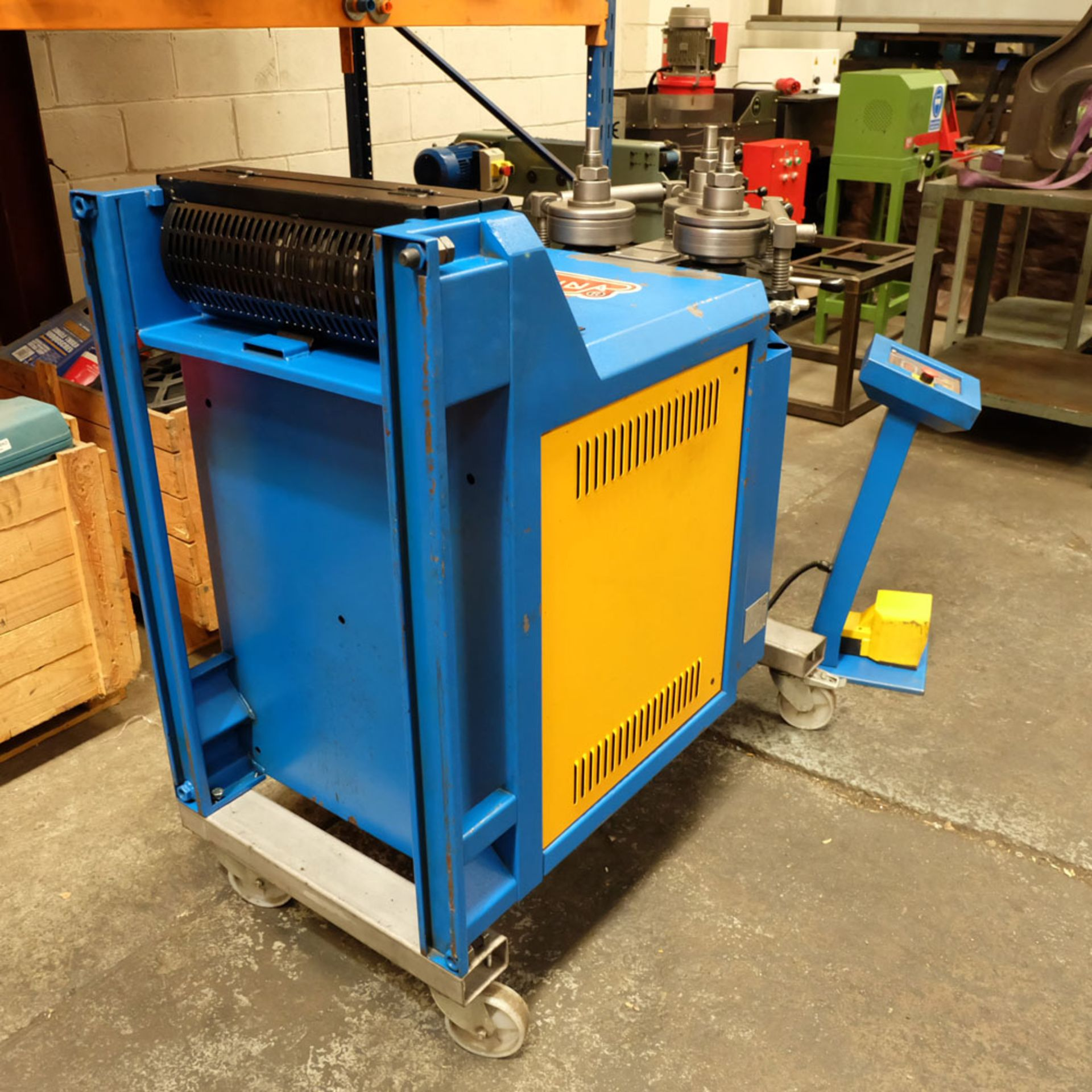 Ercolina CE40MR3 - Ring rollers. Horizontal/Vertical. Roll Shaft Diameter 40mm. - Image 7 of 14