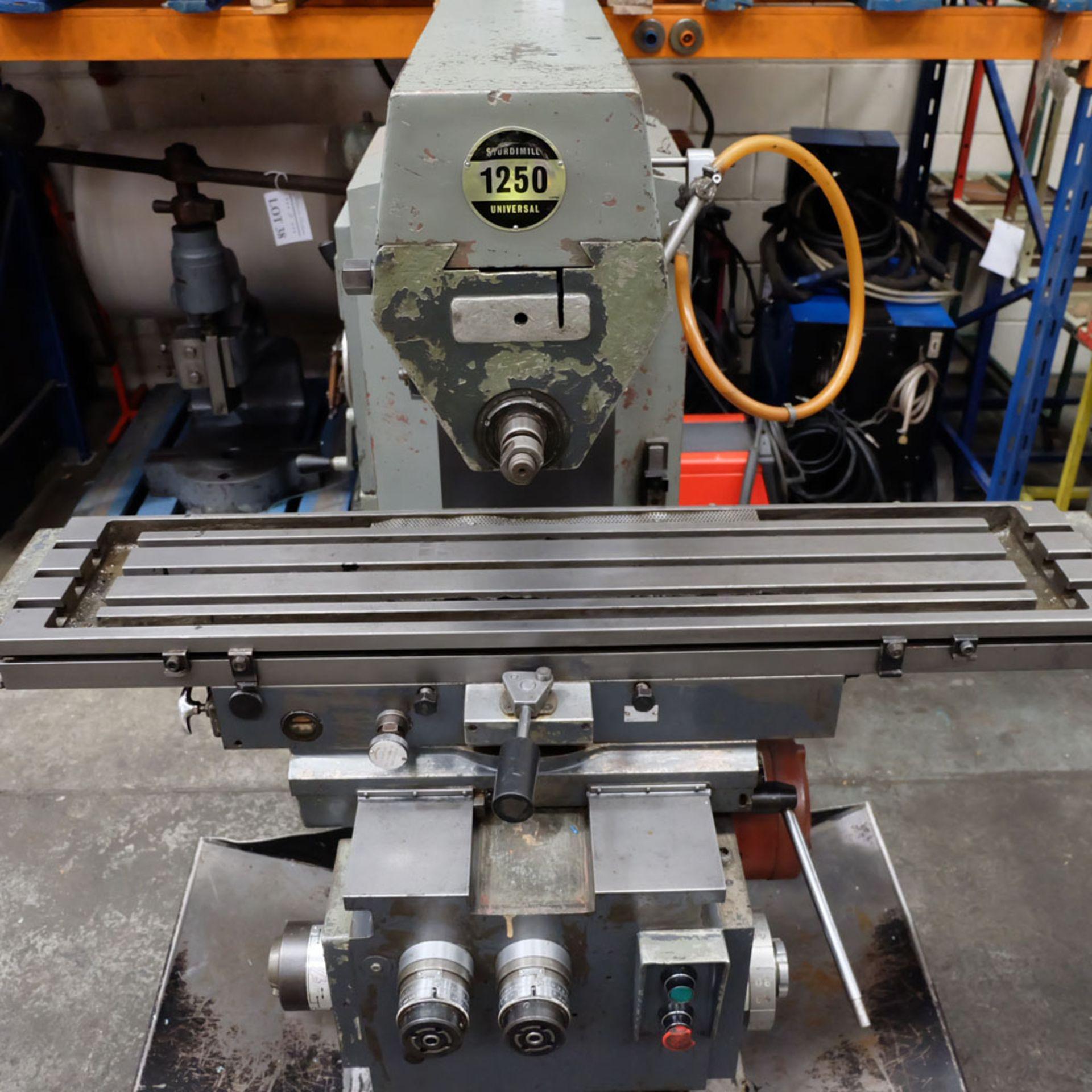 Elliott Horizontal Milling Machine. - Image 4 of 12