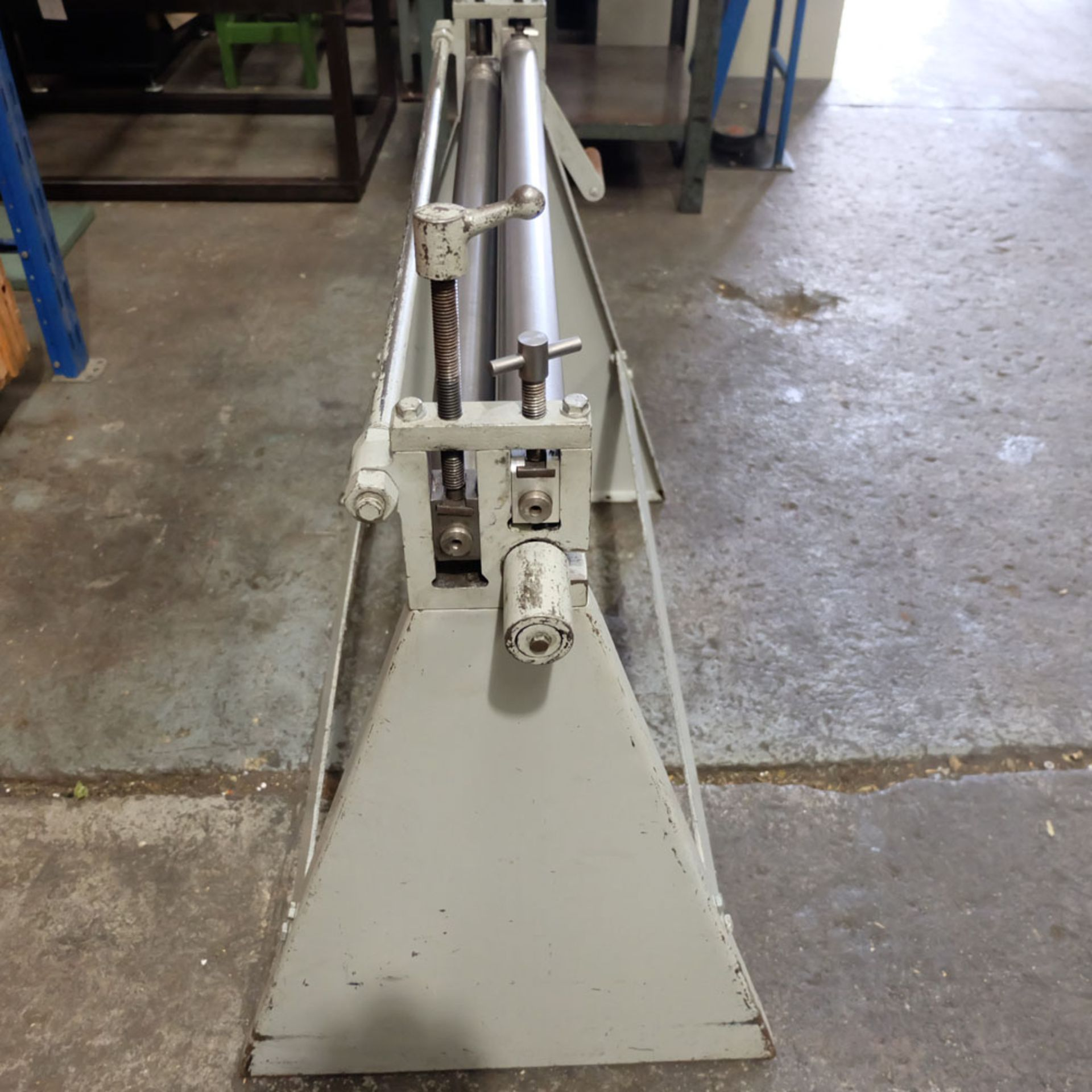 Morgan Rushworth Manual Pyramid Rolls. Capacity 1.22mm x 1025mm. - Image 6 of 6