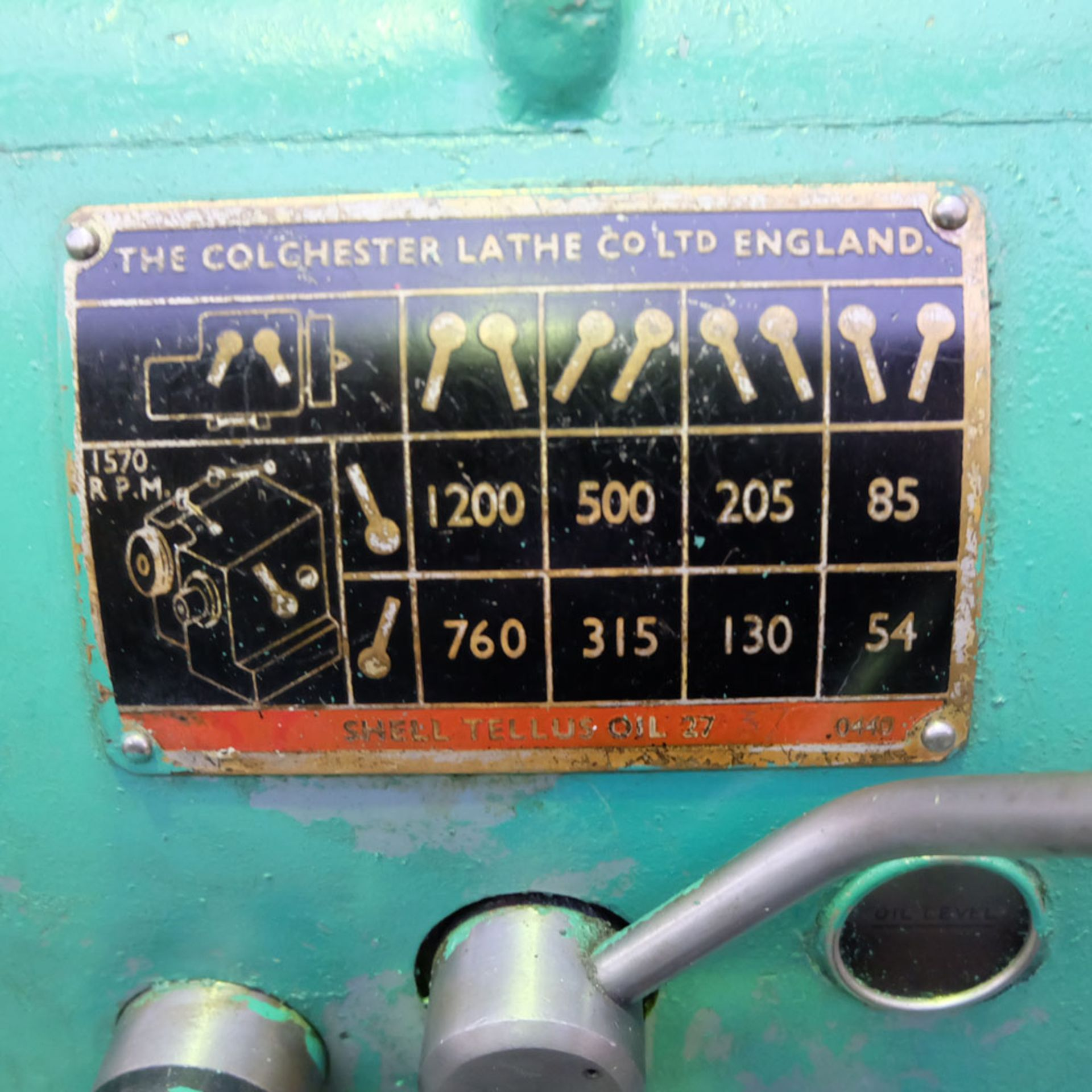 Colchester Student Roundhead Centre Lathe - Image 7 of 8