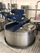 Vesseltec 2500 Litre jacketed mixing vessel with L