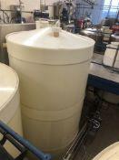 10,000 Litre cylindrical plastic storage tank