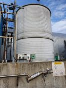 Plastic 35 tonne holding tank