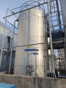 26 tonne 316 Stainless steel vertical cylindrical