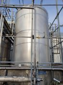 20 tonne 316 Stainless steel vertical cylindrical