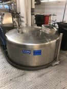 10,000 Litre stainless steel holding tank