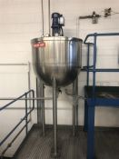 BCH 150 Litre jacketed pre-mix hemispherical pan