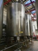 20,000 Litre stainless steel insulated tank (T5)