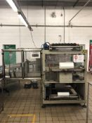 Impianti Novopac side feed auto shrinkwrapper with