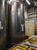 10,000 Litre stainless steel singles skin tank wit