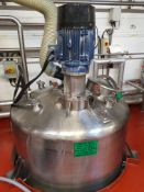 BCH 5000 Litre stainless steel jacketed mixing ves