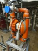 Guide Price - £800 - Wilden M8 Stainless steel diaphragm pump