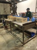 Farason accumulation/feed table with motor (Unit i