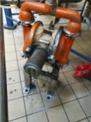 Guide Price - £600 - Wilden M4 Stainless steel diaphragm pump