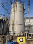 18 tonne 316 stainless steel vertical cylindrical