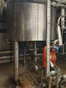 Bibby's 300 Litre stainless steel jacketed hemisph