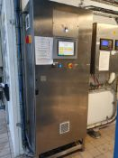 Stainless steel control panel with Allan Bradley H