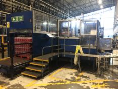 PCE Automation packlifter, palletizer and pallet d