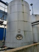 25 tonne 316 Stainless steel vertical cylindrical