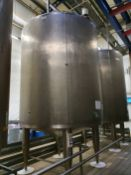 15,000 Litre stainless steel holding tank (T3)