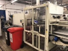 Europack twin lane side feed auto shrinkwrapper *Y
