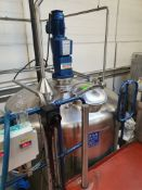 BCH 5000 Litre stainless steel mixing vessel with