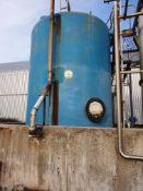 GR Plastic 25 tonne salt holding tank