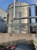 50,000 Litre stainless steel insulated tank