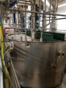 7500 Litre stainless steel tank with Greaves varia