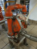 Wilden M4 Stainless Steel Diaphragm Pump