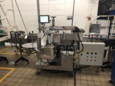 PPM Albro front and back labeler Model 350D *s/n 8