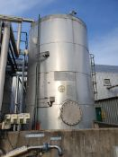 27 tonne 316 Stainless steel vertical cylindrical